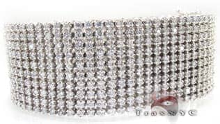 10 Row Toni Bracelet Mens Diamond Bracelets