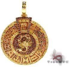 Custom Zodiac Pendant Diamond Pendants