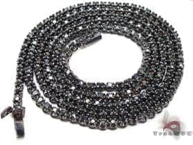 Black Gold Diamond Chain