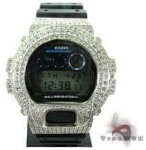 Silver CZ G-Shock Case G-Shock Watches