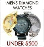 Affordable Mens Diamond Watches