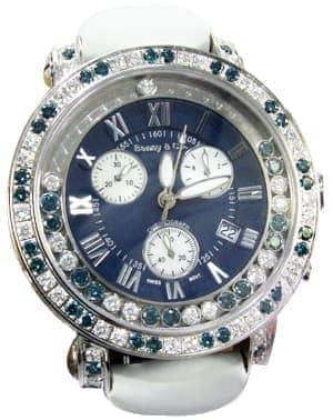 Hip Hop Blue Watch